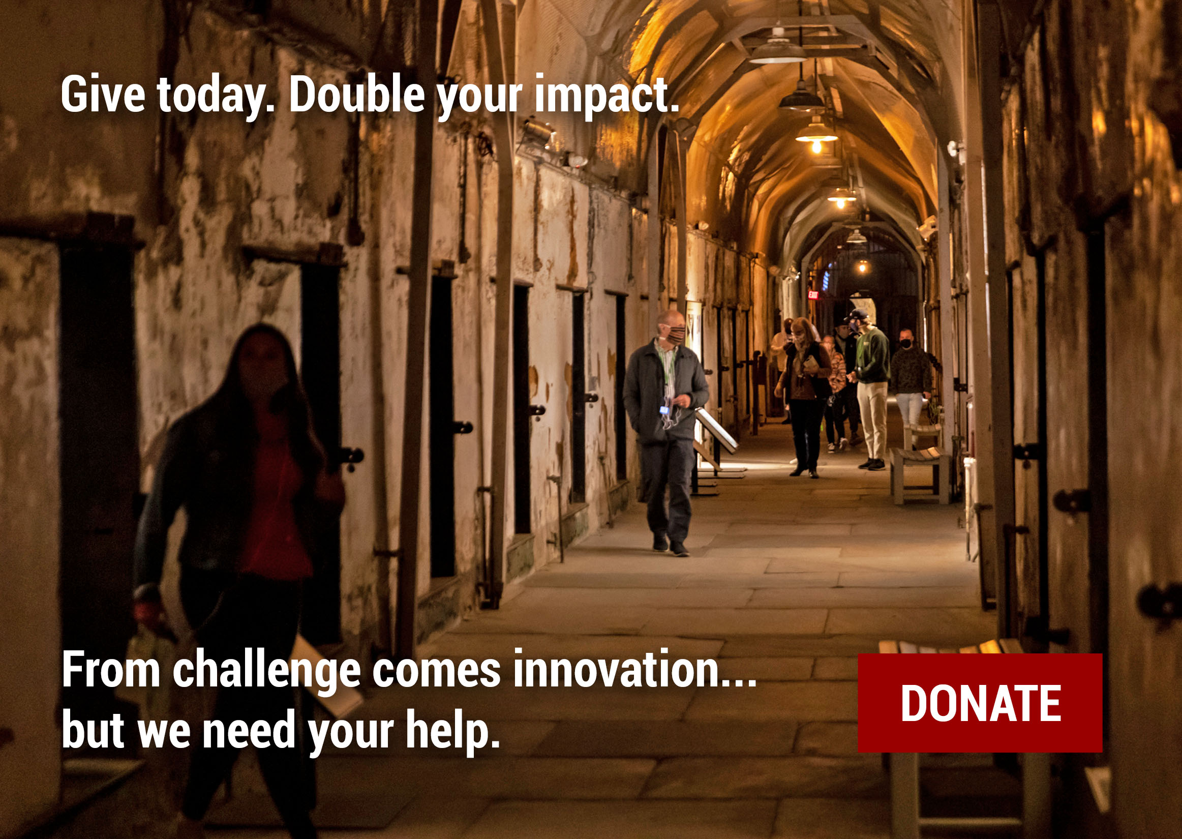 Give today, double your impact.